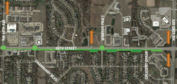 Plans for 86th Street Trail – 2nd Beaver Creek Access Advance