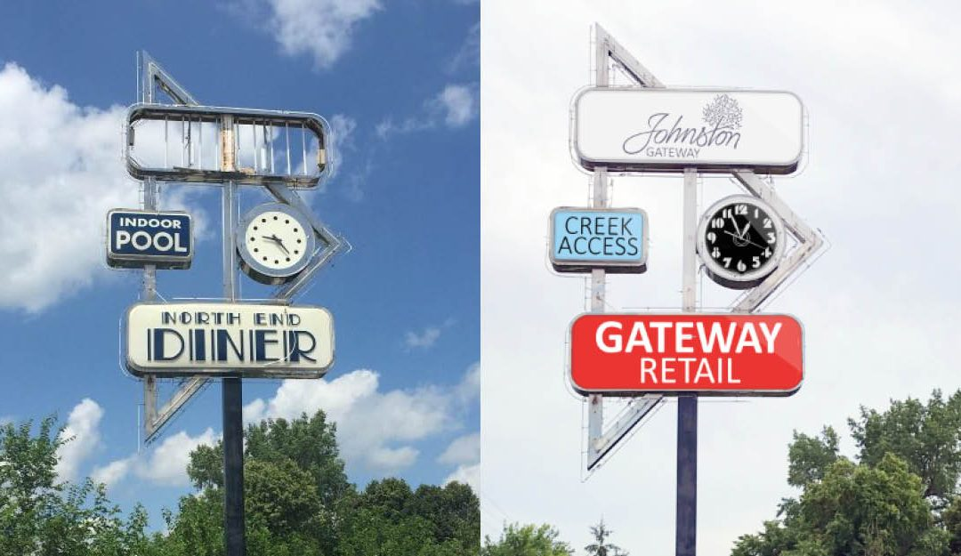 Merle Hay Road Gateway Sign Concept Discussed
