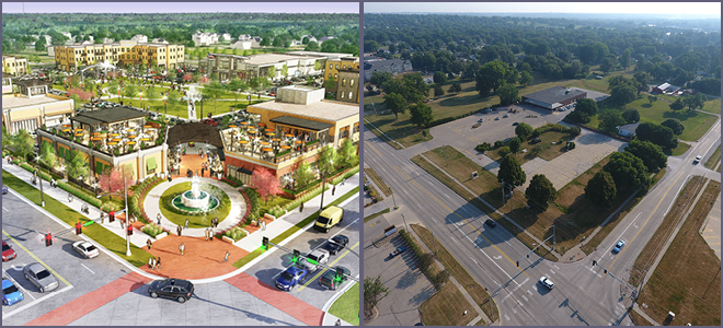 Johnston Town Center Update