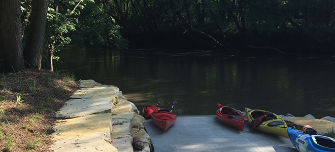New Water Trails Access Point Open to Public